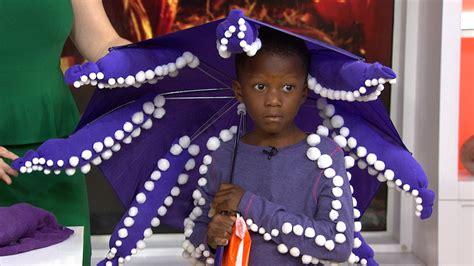 toddler dress up closet diy an octopus costume out of an umbrella