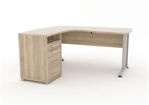prisme skrivebord  skuffer eik struktur dekor kjop na og fa levert pa doren