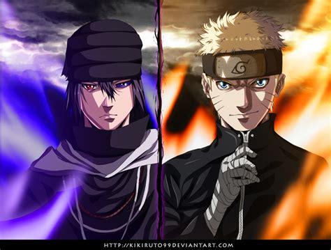 naruto  sasuke siapakah  ter kuat kishimoto