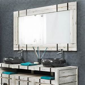 grand miroir de salle de bain loft 160x80 With grand miroir pour salle de bain