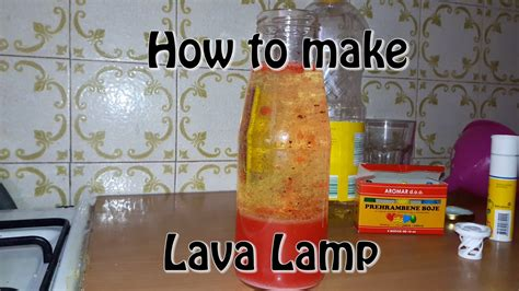 How To Make Fall Decorations At Home: How To Make A Lava Lamp