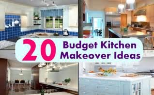 kitchen makeovers ideas 20 budget kitchen makeover ideas diy home creative ideas for home garden