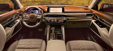 2020 Kia Telluride Ex Interior when will the kia telluride be available