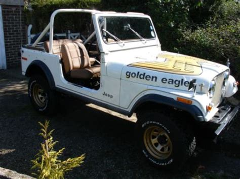 78 UK Golden Eagle and Korean Korando Daisy Duke Jeep ...
