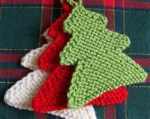 christmas craft ideas knitting christmas tree knitting pattern
