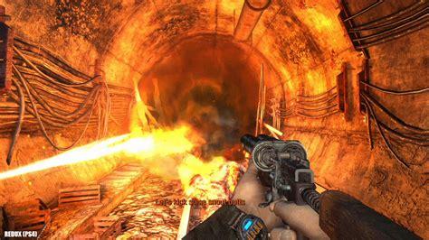 Metro 2033 Redux Pc Vs Playstation 4 Graphics Comparison