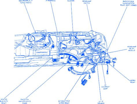 Jeep Cherokee Wagoneer Under Dash Electrical Circuit