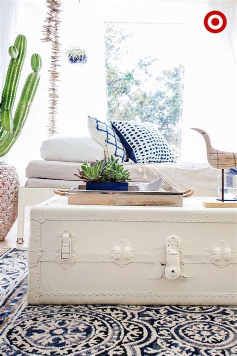 white storage trunk 16 trunks turned coffee tables that bring 1061
