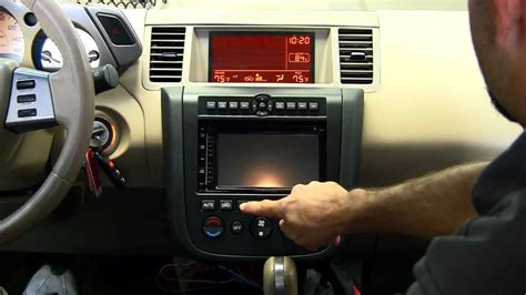 Metra Nissan Murano Dash Kit Youtube