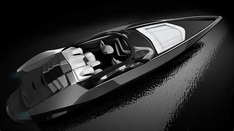 Lamborghini Tender Boat by Fusion L Yacht Design