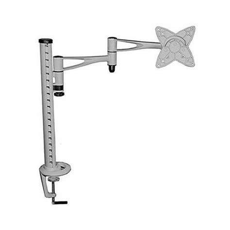 fixation pc sous bureau support en métal réglable en hauteur orientable fixation support tv avis et prix pas cher