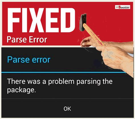 10 ways to fix quot there was a problem parsing the package quot android parse error solved