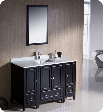 kitchen espresso cabinets fresca fvn20 122412es oxford 48 quot traditional bathroom 1599