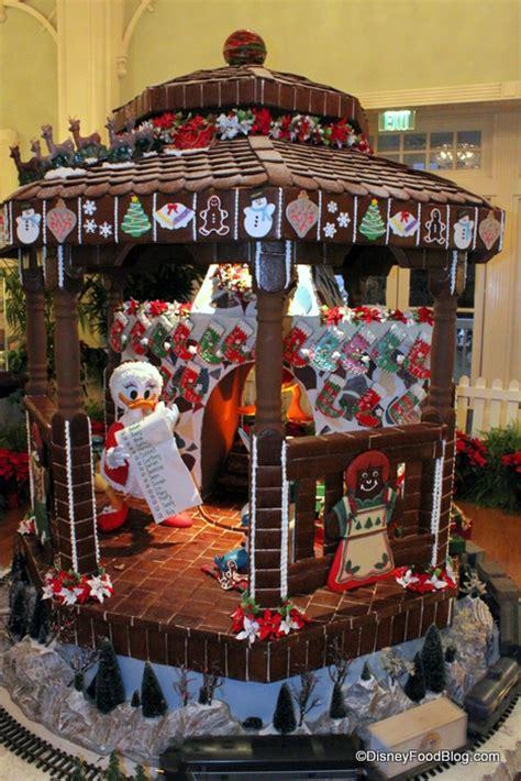 gingerbread displays  disney world  part