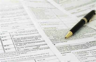 Mortgage Paperwork Process Sheet Signature Equity Rate