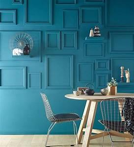les 25 meilleures idees concernant bleu petrole sur With mettre en peinture un mur