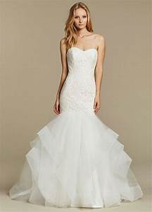 Blush By Hayley Paige Azi 1603 Strapless Fit Flare