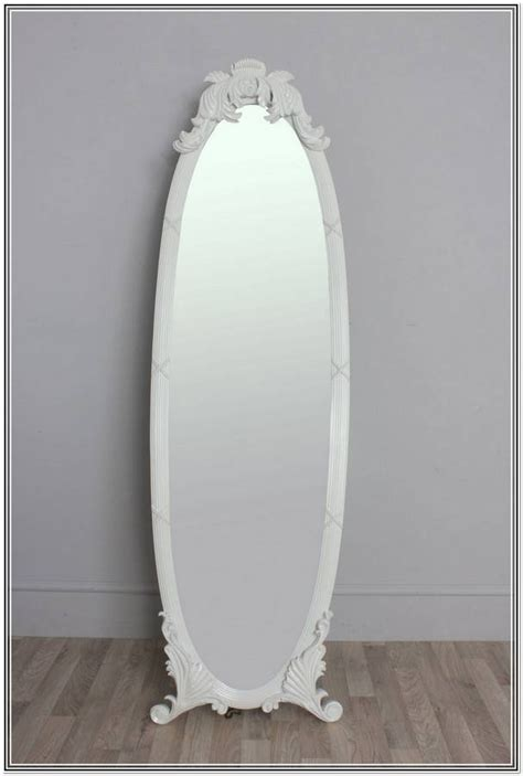 topic white full length wood framed wall mirror