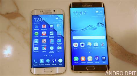 samsung galaxy s6 edge s6 edge comparison androidpit