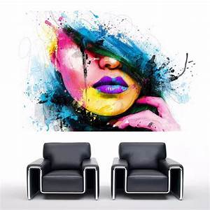 Toile Peinture Pas Cher : peinture abstraite pas cher ides ~ Mglfilm.com Idées de Décoration
