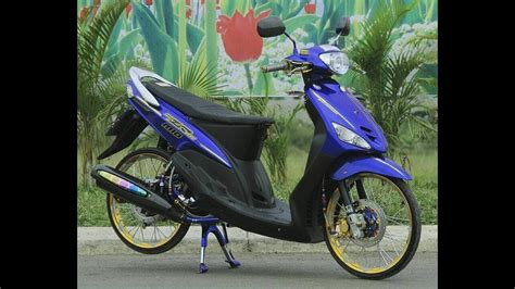 Vixion Thailook Style by 88 Modifikasi Mio Sporty Thailook Terbaru Kurama Motor