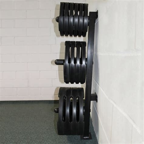 wall mounted weight rack wall mount olympic weights tree