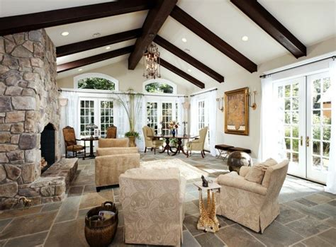 Decorating Ideas Vaulted Ceilings by 20 Lavish Living Room Designs With Vaulted Ceilings