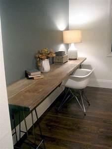Build desk itself 22 exceptional DIY Office Tables