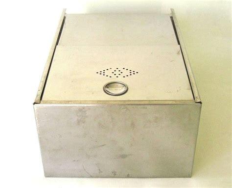 Stainless Steel Bread Box Drawer Insert Kitchen Cupboard Drawer Liner Hoosier Cabinet Accessory