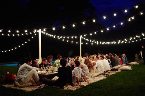 deko gartenparty ideen  darf auf einem gartenfest