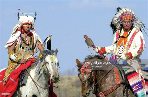 indians canadian plains horseback taking canada welcoming saskatoon ceremony getty gettyimages wanuskewin graham tim heritage prince charles during visit park