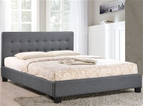 the clean bedroom caitlin bed in gray fabric by modway 13514