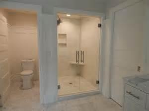 beebe ar specialty glass custom glass frameless shower - Bathroom Designs With Walk In Shower