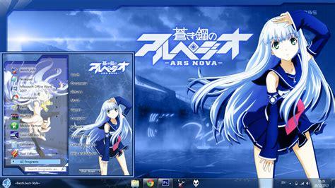 Ars Anime Wallpaper - theme win 7 aoki hagane no arpeggio ars by bazzh
