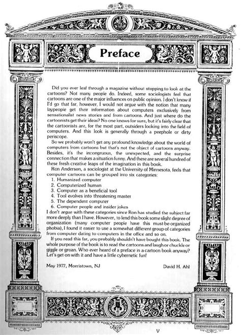 Colossal Computer Cartoon Book: Preface