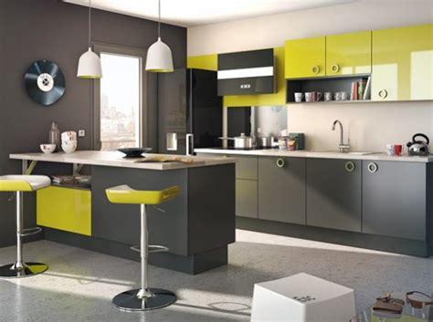 cuisine gris et vert cuisine vert