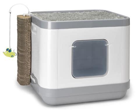 maison de toilette pour chat anti odeur ventana