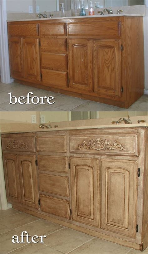 stain oak kitchen cabinets how to refinish oak cabinets lighter www 5692