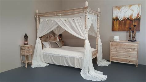 King Single Four Poster Bed Standard Bed Canopy Mosquito