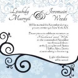 Wedding invitation wording wedding invitation wording for Wedding invitation wording light refreshments