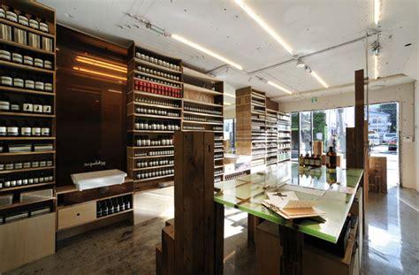 schemata architecture office aesop tokyo aoyama shop