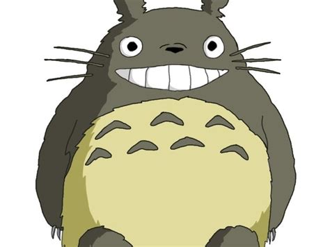 Smiling Totoro by KFINCH - Thingiverse