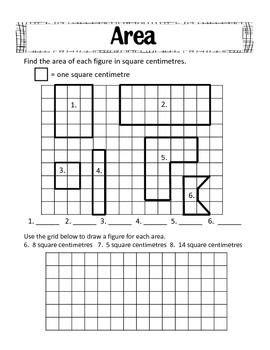 Area And Perimeter Freebie  Teaching Math  Pinterest  Math, School And Maths Area