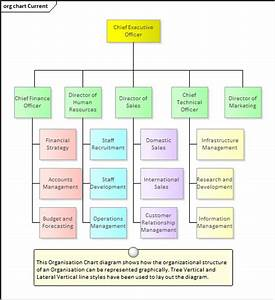 Organizational Chart Diagram