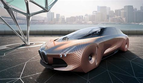 future bmw bmw envisions future with vision next 100 concept