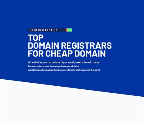 .cheap is a new domain extension and it's open for the registration of your domain names. Best Domain Registrars for Cheap Domain Names - 2020