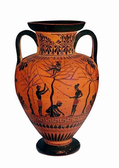 Ancient Greek Greece Jar Ate Olives Bbc