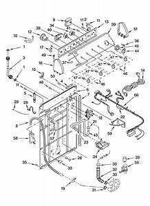 Whirlpool Gst9679pw3 Washer Parts