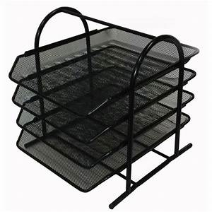 buddy products mesh 4 tier letter tray zd018 4 the home With mesh letter tray