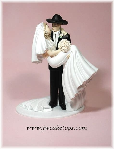 western cake toppers western cake topper wedding